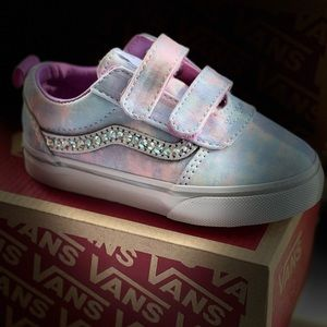 Custom Swarovski Crystal Toddler Vans